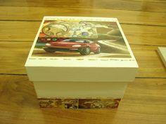 Artesanatos de Arminda Freitas: Caixa para menino (2007)