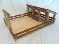 Check out this item in my Etsy shop https://www.etsy.com/listing/261033905/wooden-toy-barn