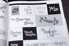 Custom Lettering of the 20s and 30s - 05