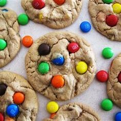 M&M cookies!! only 2 points per cookie!