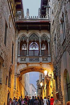 Pont dels Sospris, Barcelona