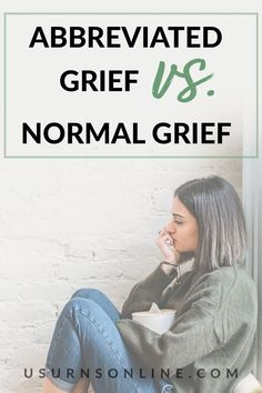 Use this guide to learn what abbreviated grief, how it's different from other types of grief, as well as what you should know about abbreviated grief. #abbreviatedgrief #typesofgrief #mentalhelp Mental Help, Dealing With Grief, Grief Loss, Cremation Urns, Funeral, Memories, Memoirs, Souvenirs, Remember This