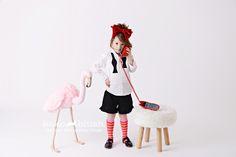 Nothing like a sassy Toddler! Fashion & styling by Koko Blush. Love the stuffed pink flamingo & faux sheepskin stool. Shop trendy kids fashion at KokoBlush.com