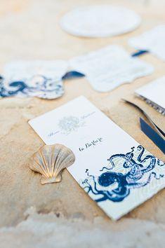 Mallorca Inspired Under The Sea Wedding Theme