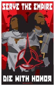 Str-Trek-Klingon by CuddleswithCats on @DeviantArt
