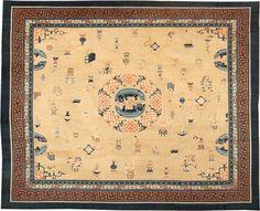 Antique Chinese Oriental Carpets #41154  http://nazmiyalantiquerugs.com/antique-rugs/chinese/