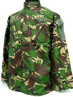 British DPM Camo Woodland BDU Uniform Shirt Pants | eBay