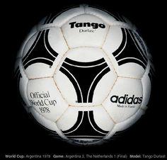 Tango del Mundial ´78 el comienzo de la historia. Ball of the Argentina world cup ´78 Beginning of the story.