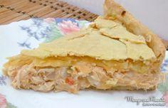 Torta de frango da Rita Lobo, receita maravilhosa para deixar qualquer refeição deliciosa. Clique na imagem para ver a receita no blog Manga com Pimenta.