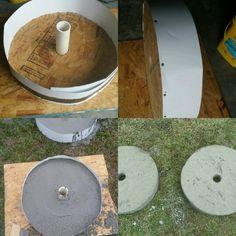 90lbs concrete plates