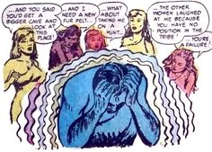 Cavewomen from hell (From 'Mister Mystery' No.11)