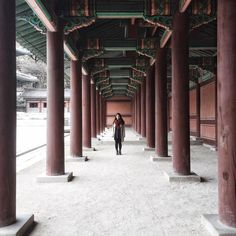 Not the largest but probably the prettiest among the five grand palaces of Seoul! So happy to finally see this one! I have yet to post snaps of the beautiful Secret Garden inside it.  #AsIWandered #SEOULid by rayniyel