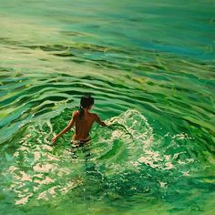 Amazing Water Paintings by Antoine Renault