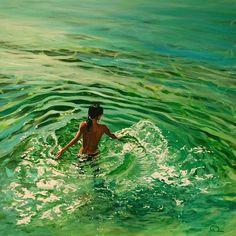Amazing Water Paintings by Antoine Renault