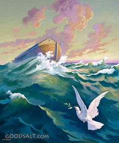 The Ark and the Dove - Standard Publishing's Classic Bible Art Collection