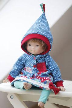 Eine himmlische Vani für die Tochter und ein Puppenjumperkleid für die Puppe ...