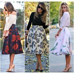Feminina, romântica e moderna são características que definem essa modelagem de saia! Além de todos esses atributos, esse tipo de saia permite que mulheres de todas as idades usem! O floral combina perfeitamente com a estação e deixa o look super elegante! #mulheresdebomgosto #mbg #consultoriadeimagem #personalshopper #palestras #areacorporativa #dresscode #cool #lookoftheday #work #lifestyle #outfitoftheday #fashion #trend #ootd #moda #mbgindica #inspiration #streetstyle #chic #classic…