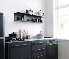 170 besten string regal bilder auf pinterest in 2018 string pocket shelves und string shelf. Black Bedroom Furniture Sets. Home Design Ideas