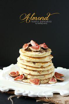 Nutmeg Nanny Almond Ricotta Pancakes » Nutmeg Nanny