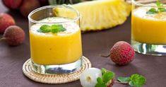 Recette de Smoothie minceur ananas, mangue et litchi. Facile et rapide à réaliser, goûteuse et diététique. Ingrédients, préparation et recettes associées.
