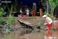 Fotos de Can Tho, Poblado de Pescadores, Vietnam: manbos.com