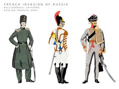 The War of 1812: A Soldier's Uniform. Russian Imperial Army #russia #army #military