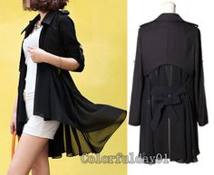 women's Chiffon blouses OL style Cloak and shawl by colorfulday01, $55.99