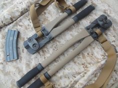 Carbon Fiber Bolt Cutters.. GREAT idea.. ALL breaching tools (Except for a Rem MCS) are heavy to carry & move with. Anything that you can lighten up...