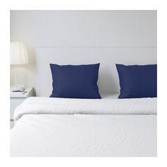 IKEA - ДВАЛА, Наволочка, , Плотная тонковолонистая и приятная на ощупь ткань.