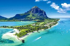 The top 5 best places to visit in Mauritius. A neat summary of the best places to visit in Mauritius including, wildlife, beaches, parks and top tourist attractions. Hotel Mauritius, Mauritius Travel, Mauritius Island, Air Mauritius, Cool Places To Visit, Places To Travel, Beautiful Islands, Beautiful Places, Best Holiday Destinations
