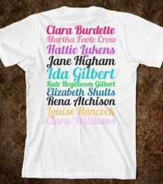 Alpha Phi founders shirt! so awesome! by lois
