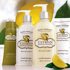 Love the fresh scent of Citron Honey & Coriander from Crabtree & Evelyn