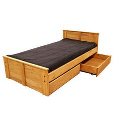Chelsea Home Twin Panel Bed with Storage.  $499 (free shipping)  *NOT Twin XL-- just regular twin.   :(