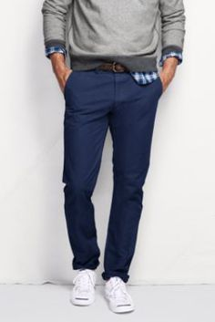Men's Comer 608 Slim Fit Chino Pants from Lands' End