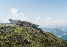 MMM Corones, Kronplatz. Messner's 6th mountain museum.