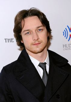 James McAvoy I wonder if this dreamy-look was because he was thinking of his wife.