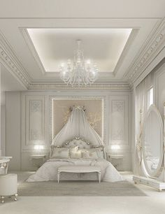 Ions design…leading the interior design companies for house designs & interior design dubai full range of services including bedroom design & luxury Interior Design Dubai, Luxury Bedroom Design, Interior Design Companies, Interior Ideas, Plafond Design, Suites, Luxurious Bedrooms, Luxury Bedrooms, White Bedrooms