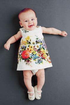 D&G Flower kids Brocade Dress - Google 検索