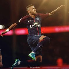 He Has Come Neymar 2017, Neymar Psg, Fc Barcelona Neymar, Football Is Life, Paris Saint, Best Player, Lionel Messi, Football Players, Sexy Men