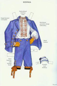 Russian Folk Costumes Paper Dolls (Ming-Ju Sun) - Nena bonecas de papel - Picasa Webalbum