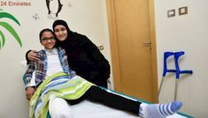 Gaza girl looks to new life after amputation of leg