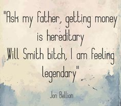 Quote by Jon Bellion from his song Jim Morrison