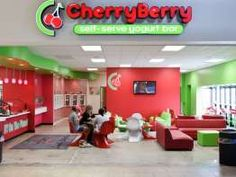 Cherry Berry, a fresh and natural frozen yogurt bar, has opened its doors just inside the Conestoga Mall Stadium 7 entrance on the east side of the building. Frozen Yogurt Bar, American Girl Crafts, Self Serve, Doll Food, Fast Food Restaurant, Summer Fun, Fun Facts, Berries