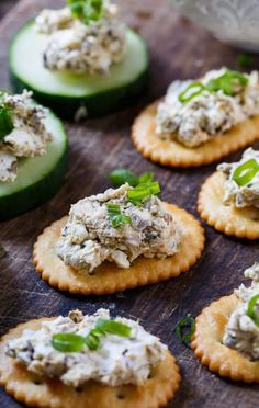 Smoked Oyster Spread- just 4 ingredients and 5 minutes needed to make this delicious appetizer!