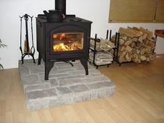 Wood Stove Hearth..... Want in my kitchen