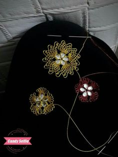 This post was discovered by Ni Needle Lace, Sun Hats, Diy And Crafts, Lace, Craft, Tejidos, Needlepoint, Pattern, Sombreros De Playa