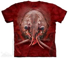 Lobster Face T-Shirt at theBIGzoo.com, a toy store with over 12,000 products.