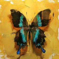 Still Life — Lindsey Kustusch Butterfly Painting, Butterfly Art, Butterflies, Madame Butterfly, Easy Paintings, Art Drawings Sketches, Artist Painting, Art Techniques, Nature Wallpaper