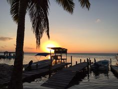 Awesome #sunset at #Belize