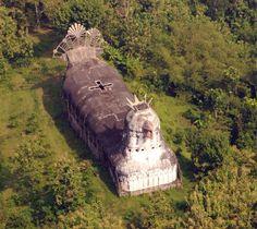 Collines de Magelang Indonésie Eglise abandonnée